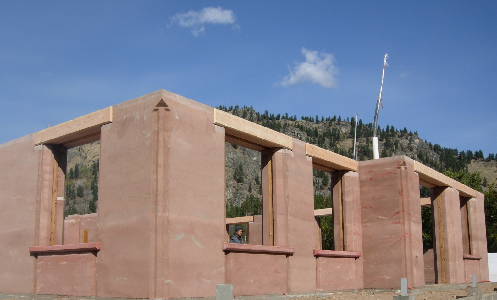 Grand Forks First Rammed Earth Home Prana Food And